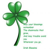 An Irish Blessing For My Jiggy Friends