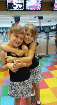 My sweet granddaughters on the eve of their 6th birthday.