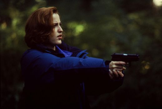 Badass Scully.