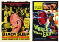 The Black Sleep ~ 1956 and World Without End ~ 1956