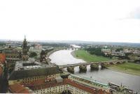 Dresden. Elba River. Germany.