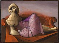 Oscar Domínguez: Mujer sobre diván, 1942