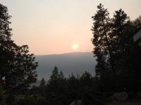 The West Ridge at Sunset
