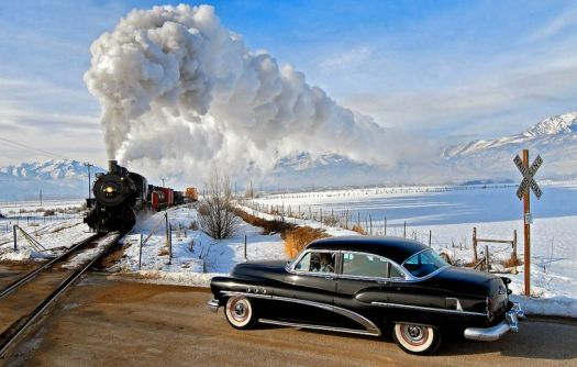 train and buick