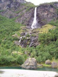 Rjoandefossen (near Flåm in Norway)