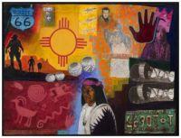 Route 66 Postcard ~ David Bradley (Chippewa)