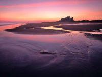 Bamburgh quiet dawn