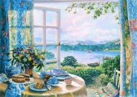 Afternoon Tea Overlooking the Lake