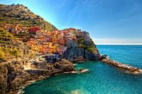 Coast of Liguria, Italy