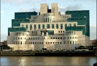 MI6 Building, is the headquarters of the British Secret Intelligence Service.