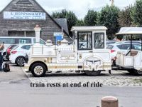 le Petit Train in Honfleur, France, Sep 2019