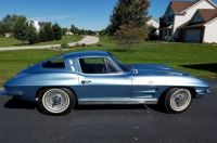 '63 Corvette Split Window Coupe With Knock Off Wheels