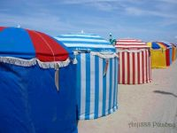 Trouville beachtents