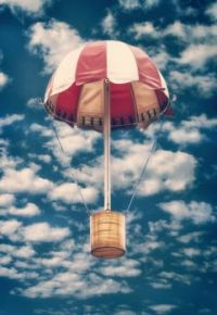 hot air balloon?