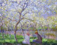 Claude Monet - Springtime at Giverny, 1886 (Apr17P42