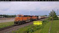 OKC BNSF-5544 BNSF-3984
