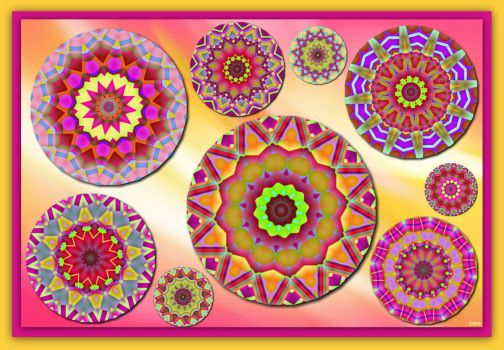 Friday Surprise Puzzle: KaleidoPlanets!! ~ Medium