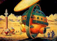 Retro Sf - Moon Gyroscope