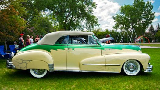1948 Pontiac chief convertible!!!!(spunky & the bandit).