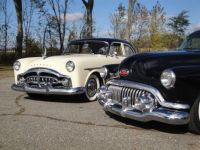 1951 Packard 300 and 1952 Buick Special