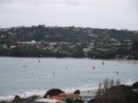 Kiteboarders at Manly
