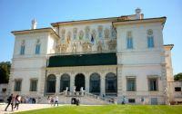 The Villa Borghese in Rome
