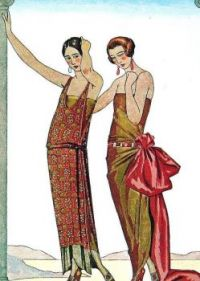 J.S. Artwork - French Art Deco Fashion
