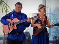Musicians 74 - Mikhail Smirnov (guitar) and Elena Karokhina
