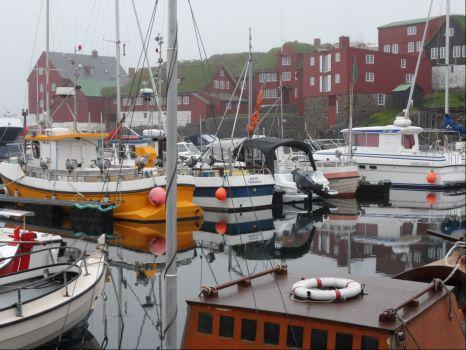 Torshavn, Faroe Islands, July 2015