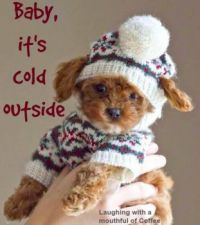 Baby, it's cold outside :))