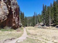 LAS CHONCHAS TRAIL - SAN MIQUEL MOUNTAINS, NM