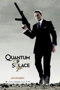 JAMES BOND 007--QUANTUM OF SOLACE !