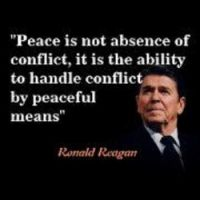 Peace is not the absence of conflict