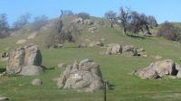 A Rock Strewn Hillside In Yokohl Valley California