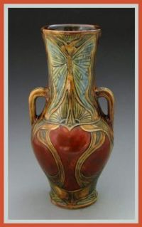 Stephanie Young - Luna Moth Vase