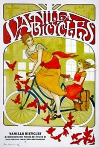 Vintage ad - Vanilla Bicycles