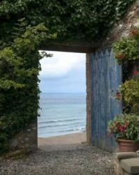 The open door .....