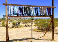 Pants off the ground! - Noah Purifoy Outdoor Museum