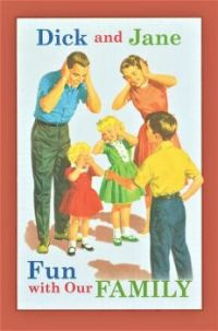 Themes Vintage illustrations/pictures - Dick and Jane Book Cover
