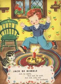 Themes Vintage Illustrations/pictures - Jack Be Nimble