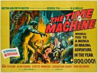 THE TIME MACHINE - 1960 POSTER - ROD TAYLOR, ALAN YOUNG, YVETTE MIMIEUX