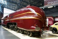 "6229 ""Duchess of Hamilton"" at the National Railway Museum"