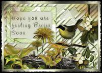 Yellow bird Topaz edit