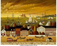 Western Dock Scene - Charles Wysocki