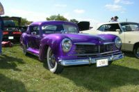 A Most Smashing  Silvery  Purple,  George Barris~Custom Hudson Auto