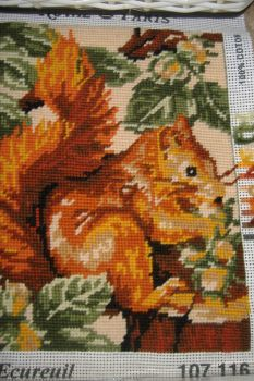 Tapestry Picture - Squirrel