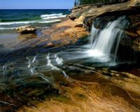 Miners Beach Lake Superior Pictured Rocks National Lakeshore Michigan post by farhad