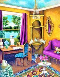 Bringing Nature Indoors With a Birdbath