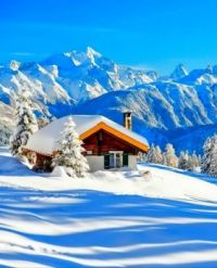 Cabin in the Alps....