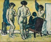 Harald Giersing - The Judgement of Paris (1909)
